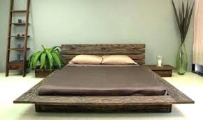 Low Wooden Bed Frame | Wooden Thing