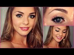 grade 8 grad formal makeup tutorial bella thorne inspired jackie wyers