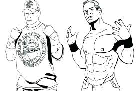 Wwe Coloring Pages Coloring Pages Coloring Pages Wrestling Coloring
