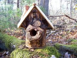 unique handmade bird houses