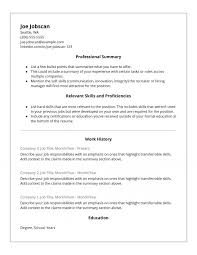 Resume Format Google Docs Gorgeous Resume Resume Templates Functional Template Google Docs Awesome