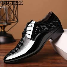 business shoes men oxford leather wedding shoes men formal ...