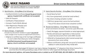Dmv Application Form Gorgeous Official Pasco County Driver License Information Mike Fasano