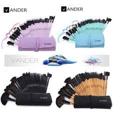 vander 32pcs makeup brushes set professional cosmetics brush eyebrow foundation shadows kabuki make up tools kits