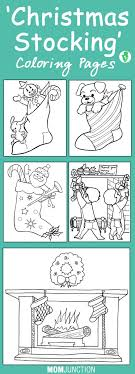 Small Picture Coloring Pages Christmas Stocking Coloring Pages Pattern