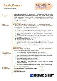 Dental Assistant Resume Examples Best Dental Assistant Resume Samples 28 Resume 28