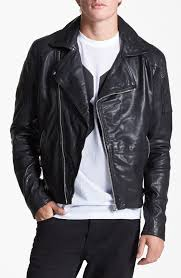 faux leather biker jacket topman