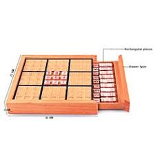 Wooden Sudoku Game Board Beech Wood Adult Desktop Game Memory Chess Sudoku Puzzle Game 88