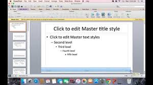 16 9 Template Creating 16 9 Slide Template Powerpoint 2011 Mac Youtube