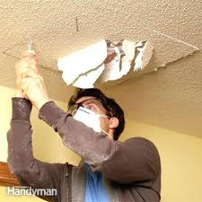 fix hole in ceiling drywall fixing ceiling drywall how to fix a popcorn ceiling hole installing ceiling drywall alone fix ceiling hole drywall