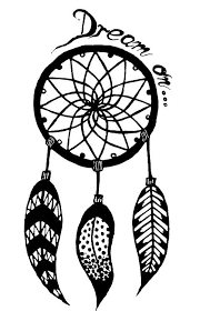 Black And White Dream Catcher Tumblr Simple Sketch Dreamcatcher Tumblr Penelusuran Google Places To Visit