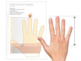 Grip Size Measurement Sqlab Online Shop