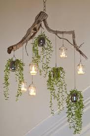 Gefundene Materialien Und Kleine Succulents Können Zu Einem