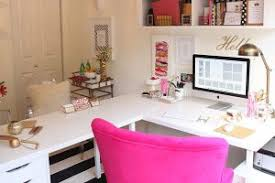 colorful feminine office furniture. Ikea Office Ideas Photos Diy Glitter Fur. Furniture Colorful Feminine
