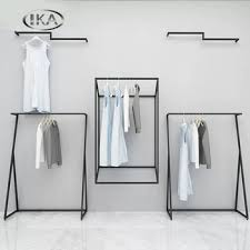 industrial style coat rack. Industrial Style Metal Tube Wall Mounted Coat Hanger Rack With