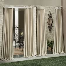 Modern Curtain Panels For Living Room Living Room Matine Indoor Outdoor Tab Top Curtain Panels With Tab