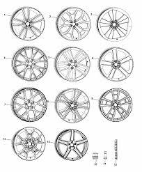 2017 dodge challenger wheels hardware diagram i2360092