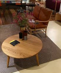 a truly iconic hans j wegner coffee table the ch008 clearly demonstrates his philosophy of never designing furniture with a backside