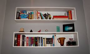 of  white black square floating cube wall storage shelves shelf