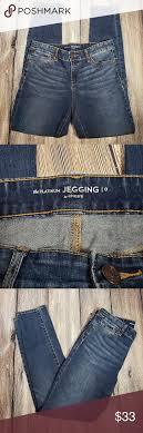 Chicos 0 Platinum Denim Jegging Jeans Great Condition