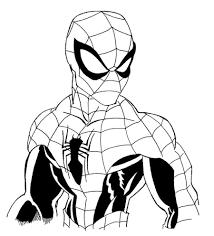Disegni Da Colorare Di Spiderman Con Spider Man In Azione Da