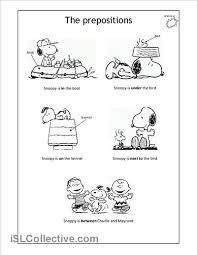 80b5efb7b6edbf60d267695e1d60f445 snoopy prep ingl�s pinterest snoopy on preposition worksheets first grade
