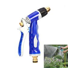 garden hose spray nozzle. Red Blue Adjustable Copper Hose Spray Nozzle Gun Garden Water Pressure Guns For Watering H