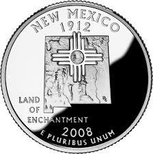 New Mexico Quarter Design State Quarterlies New Mexico When The Prodigal Sun Cant