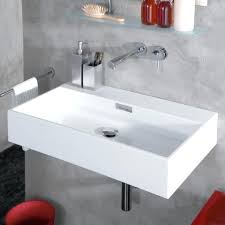 wall mounted sinks for small bathrooms. Wall Mounted Sinks With Cabinet Mount Small Bathroom Under Mirror And Glass Shelf Medium For Bathrooms B