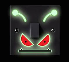 cool mood lighting. monster mood lighting glow in the dark light switch stickers cool o