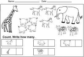 Kindergarten Images About Kindergarten Math Worksheets On ...