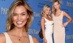 Karlie Kloss is outshone by sister ...