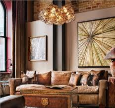 inexpensive lighting fixtures. Rustic Leather Chair And Antique Trunk Coffee Table Using Affordable Lighting Fixtures For Amazing Home Decor Inexpensive :