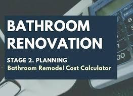 bathroom renovation cost estimator. Bathroom Remodel Cost Estimator Renovation Calculator I