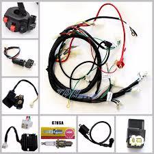 gy6 150cc full auto cvt clutch engine carburetor wiring loom gy6 150cc full auto cvt clutch engine carburetor wiring loom harness set