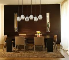linear dining room lighting. Danica 6 Light Bronze Linear Pendant With Mercury Glass Chandelier Dining Room Lighting T