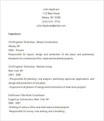 Construction Resume Examples Mesmerizing Construction Resume Templates Construction Resume Template 60 Free