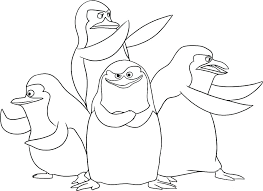Baby Penguin Coloring Pages Penguins Coloring Penguin Coloring Page