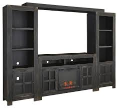 Tv Entertainment Stand Signature Design By Ashley Gavelston Entertainment Wall Unit W