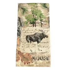 Moose Kitchen Decor Wilderness Moose Terry Kitchen Towel