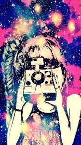 Galaxy Girl iPhone/Android Wallpaper I ...
