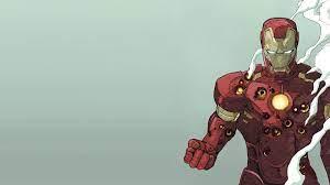 illustration, anime, cartoon, Marvel ...