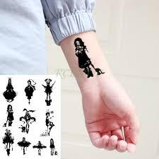 купить оптом водонепроницаемый временные татуировки наклейки большого размера