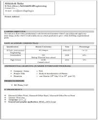 40 Fresher Resume Templates Download PDF Best Resume For Freshers