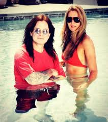 The love affair between ozzy and sharon osbourne has been a matter of public interest even before the premiere of their. Piers Morgan Shares Picture Of His Wife And Ozzy Osbourne In Swimming Pool As Sharon Speaks Out On Marriage