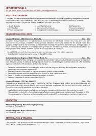 46 Super Boeing Resume Objective Examples Industrial Engineering