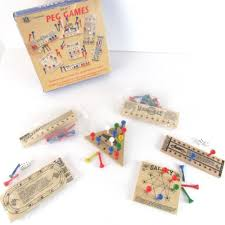 Wooden Peg Games Peg Games Set of 100 Brain Puzzlers Solid Wood Pegs Chadwick Miller 35