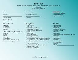 Different Birth Plan Options Effective Birth Plans The Nurturing Doula Llc