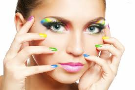 apply makeup the first step