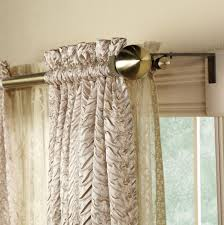 double curtain rod ideas home design ideas throughout size 1952 x 1963